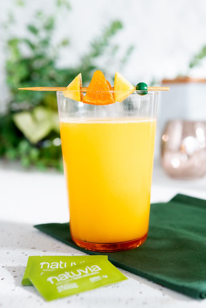 Batido de mango y mandarina